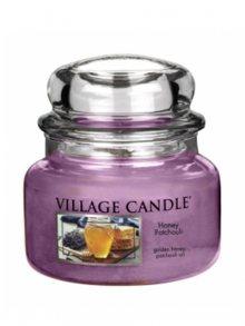 Village Candle Vonná svíčka ve skle, Med a pačuli - Honey Patchouli, 11oz\n\n