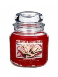 Village Candle Vonná svíčka ve skle, Mátové potěšení - Peppermint bark, 16oz\n\n