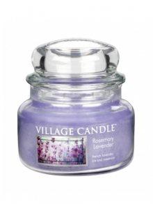 Village Candle Vonná svíčka ve skle, Rozmarýn a levandule - Rosemary Lavender, 11oz\n\n