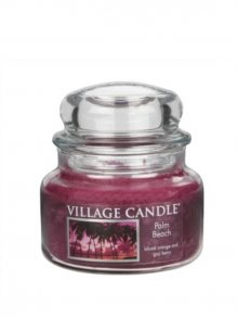Village Candle Vonná svíčka ve skle, Palmová pláž - Palm Beach 11 oz\n\n