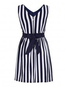 Yumi Dámské šaty YR2256_NAVY/WHITE\n\n