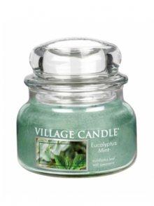 Village Candle Vonná svíčka ve skle, Eukalyptus a máta - Eucalyptus mint, 11oz\n\n
