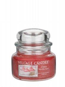 Village Candle Vonná svíčka ve skle, Višeň a vanilka\n\n