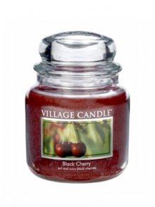Village Candle Vonná svíčka ve skle, Černá třešeň - Black Cherry, 16oz\n\n