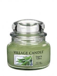 Village Candle Vonná svíčka ve skle, Svěží šalvěj\n\n