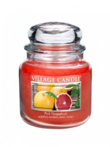 Village Candle Vonná svíčka ve skle, Růžový grapefruit, Pink Grapefruit, 16oz\n					\n