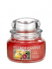 Village Candle Vonná svíčka ve skle, Růžový grapefruit\n\n