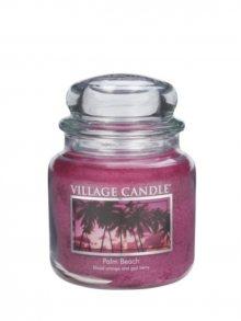 Village Candle Vonná svíčka ve skle, Palmová pláž - Palm Beach 16 oz\n\n