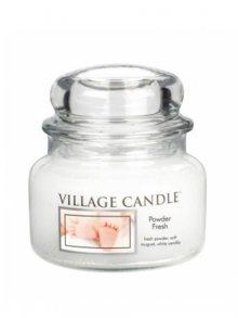 Village Candle Vonná svíčka ve skle, Pudrová svěžest - Powder fresh, 11oz\n\n