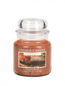 Village Candle Vonná svíčka ve skle, Dýňový Chléb - Pumpkin Bread 16 oz\n\n