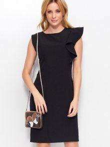 Makadamia Dámské šaty MAK_m400_black