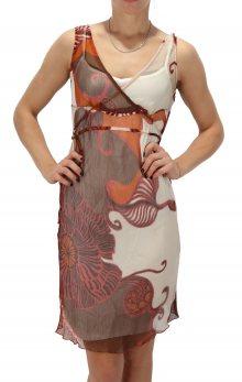 Dámské hedvábné šaty Trussardi