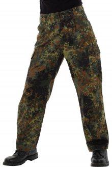 Pánské army kalhoty německé armády polní, zelený hrášek