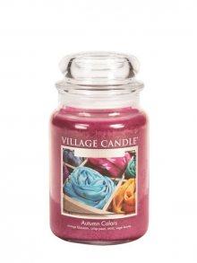 Village Candle Vonná svíčka ve skle, Barvy Podzimu - Autumn Colors 127326872 26 oz\n\n