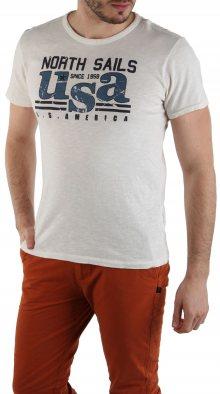 Pánské triko s krátkými rukávy North sails II. jakost