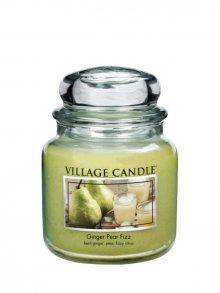 Village Candle Vonná svíčka ve skle, Hruškový fizz se zázvorem 16 oz\n\n
