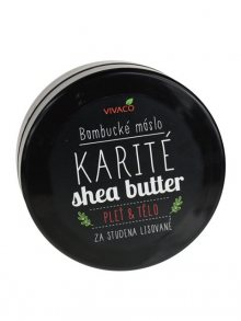 VIVACO Bambucké máslo, 200ml\n\n